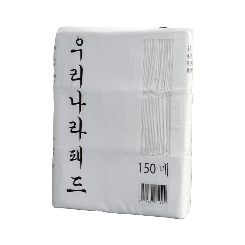 우리나라펫 패드 (무향) 150매