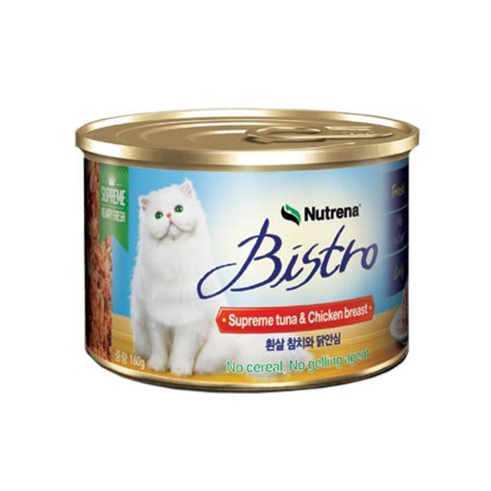 비스트로 흰살 참치와닭안심 160g * 24